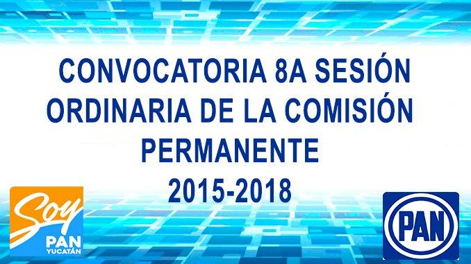 8ª SESIÓN ORDINARIA DE LA COMISIÓN PERMANENTE