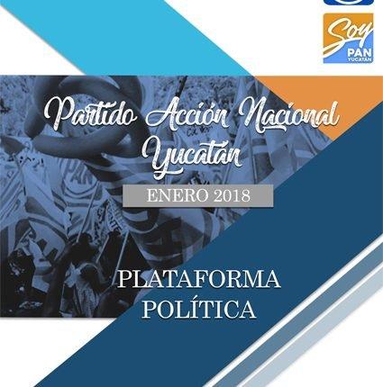 PLATAFORMA ELECTORAL PAN 2018