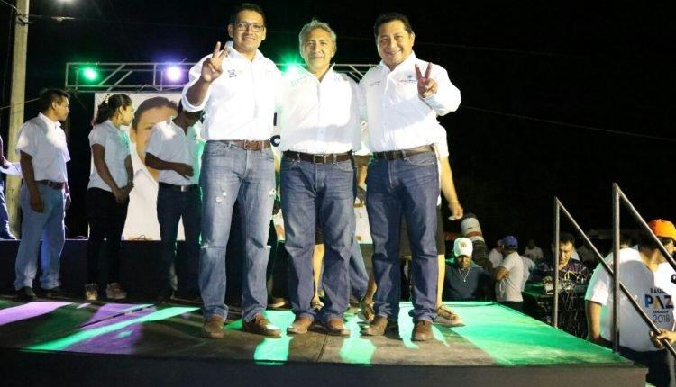 EN LA ANTESALA DEL PRIMER DEBATE ENTRE LOS CANDIDATOS A LA GUBERNATURA DEL ESTADO, EL PRESIDENTE DEL COMITÉ DIRECTIVO ESTATAL, C.P. EDGAR RAMÍREZ PECH, PIDIÓ A LOS DEMÁS PARTIDOS ESTAR A LA ALTURA DE LAS DEMANDAS CIUDADANAS.