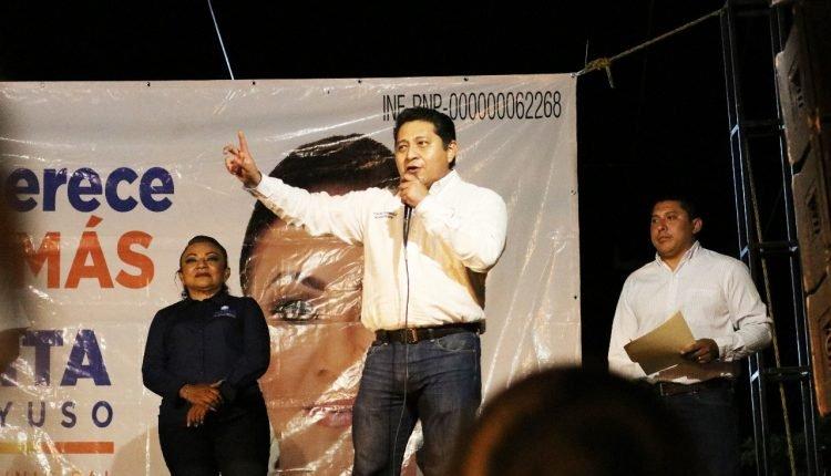 """DEFENDEREMOS A YUCATÁN CONTRA ATAQUES QUE PONEN EN RIESGO EL ESTADO DE DERECHO"""" EDGAR RAMÍREZ PECH"""
