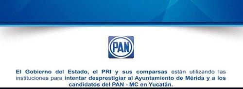 POSICIONAMIENTO DEL PAN A LAS ACCIONES DE LA ASEY