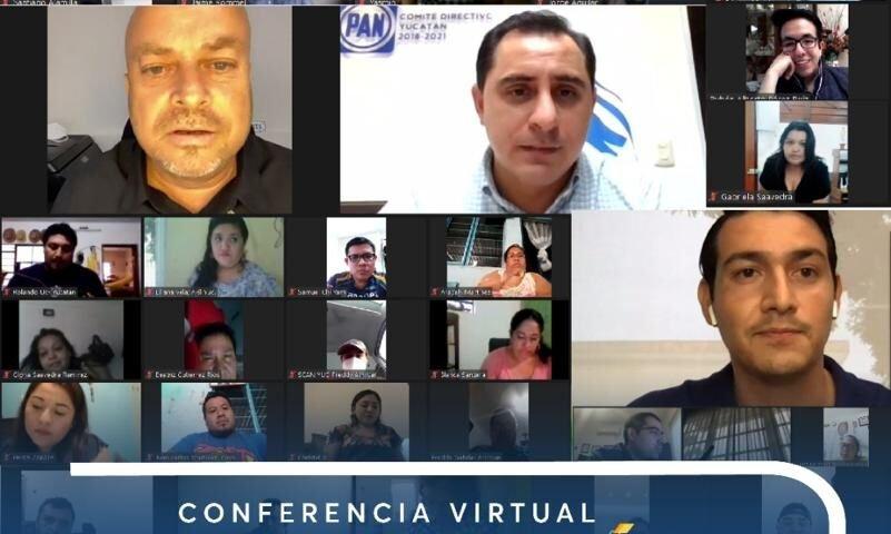 Conferencia organizada por la secretaría de Formación y Capacitación #PANYucatán